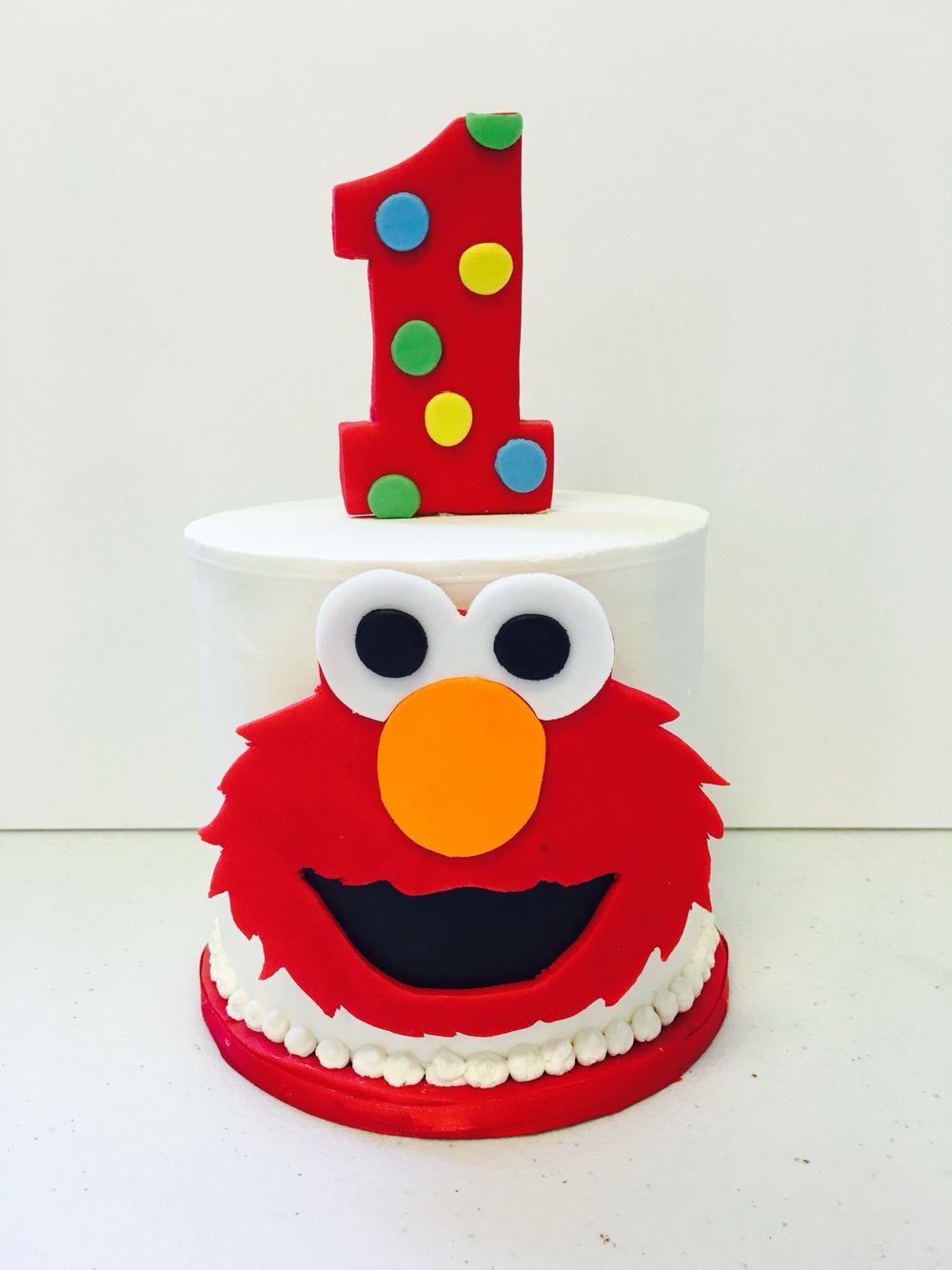 Fabulous Elmo 1St Birthday Cake Ideas The Cake Boutique Funny Birthday Cards Online Sheoxdamsfinfo