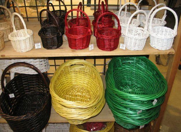 Baskets galore!