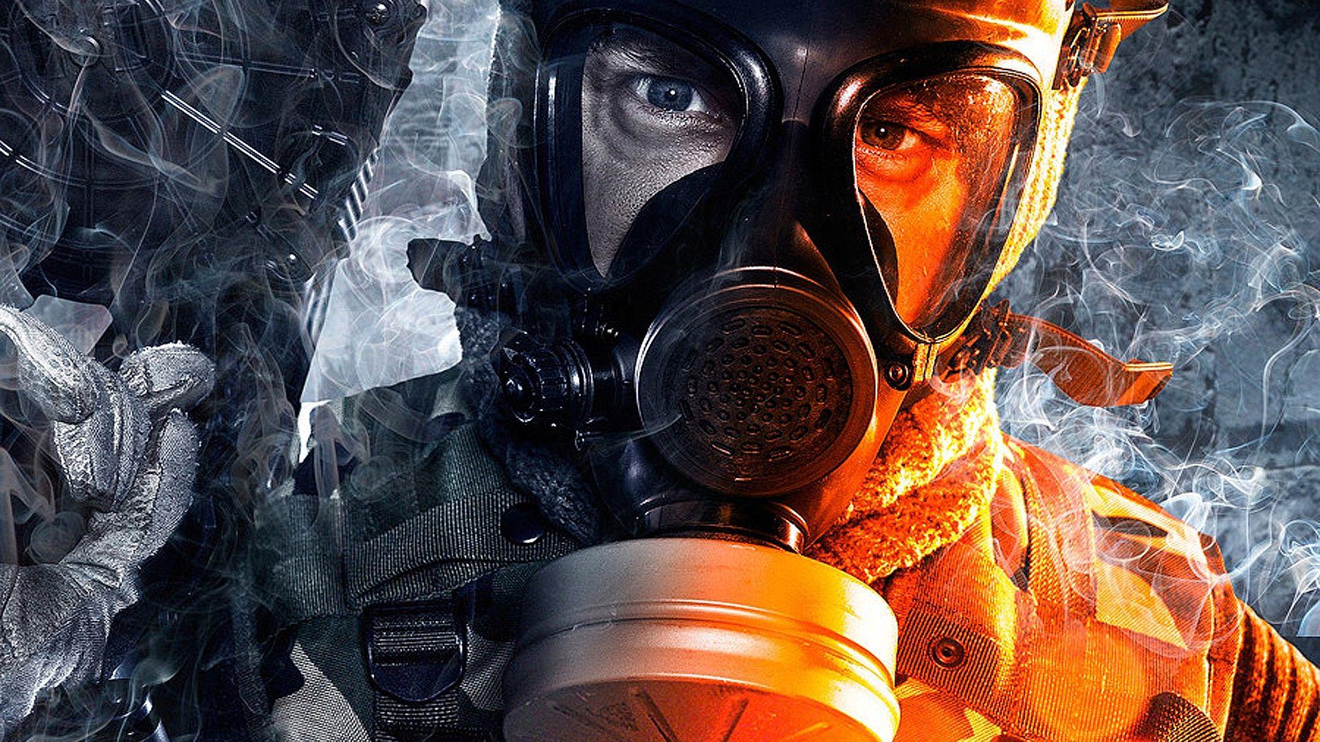 26,67 Battlefield 4 Солдаты, Противогазы и Картинки