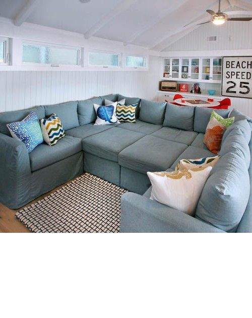 Comfy Oversized Sectional Sofa Sofas Futons Attic Living Rooms