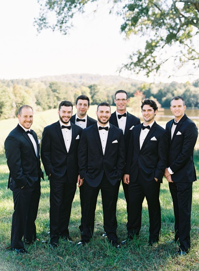 If You Watch Say Yes To The Dress You Ll Recognize This Beautiful Bride Bridal Party Photography Fall Wedding Photography Groom And Groomsmen Style