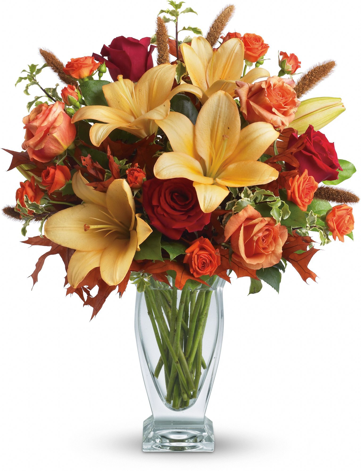 Telefloras fall fantasia bouquet fall flower arrangements telefloras fall fantasia bouquet izmirmasajfo
