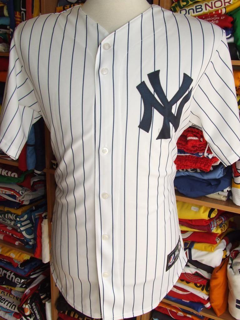 m Majestic Jersey New Mlb Baseball York Usa Shirt Trikot Yankees XxfSqfwIU