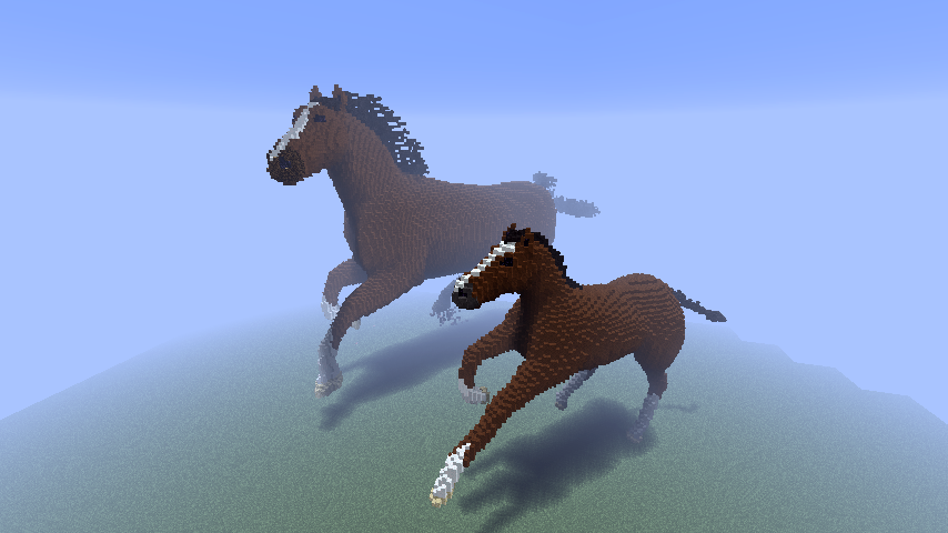 minecraft how to find horses