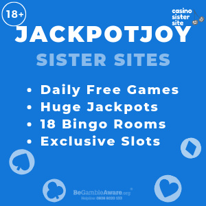 Jackpotjoy Sister Sites With Images Bingo Casino Sisters