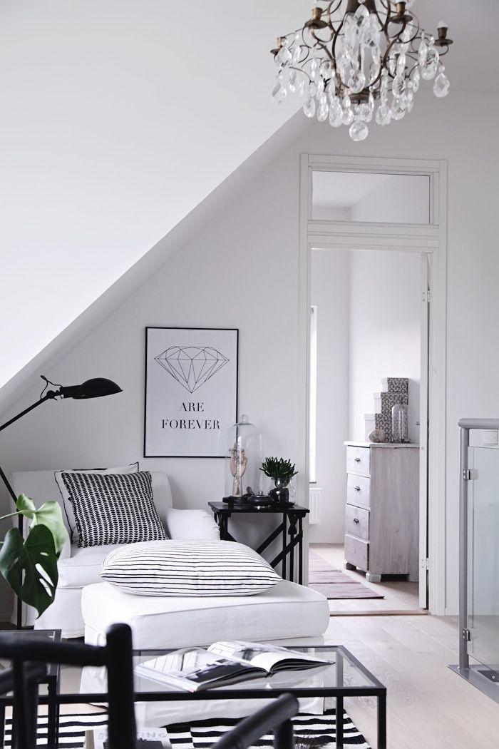 Helt enkelt Grau, Schwarzer und Wohnzimmer - wohnzimmer schwarz weis grau