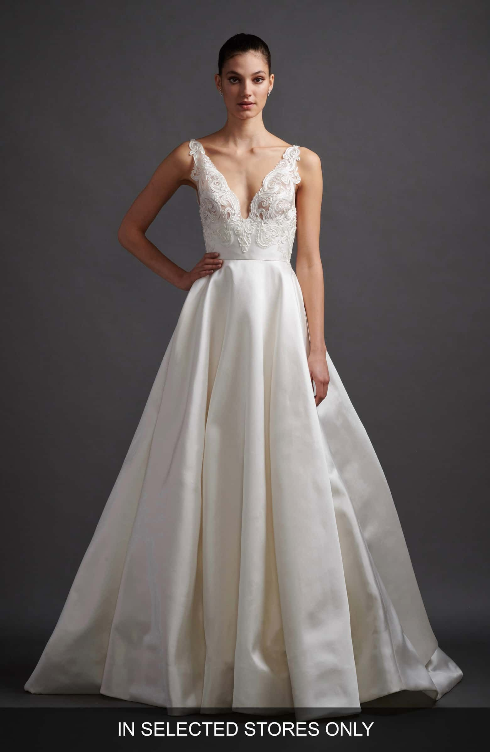90844ab3d6 Rafaela Soutache   Mikado Wedding Dress