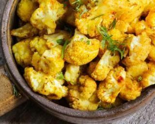 Recette de Wok de chou-fleur vite fait au curry et 4 épices Croq'Kilos