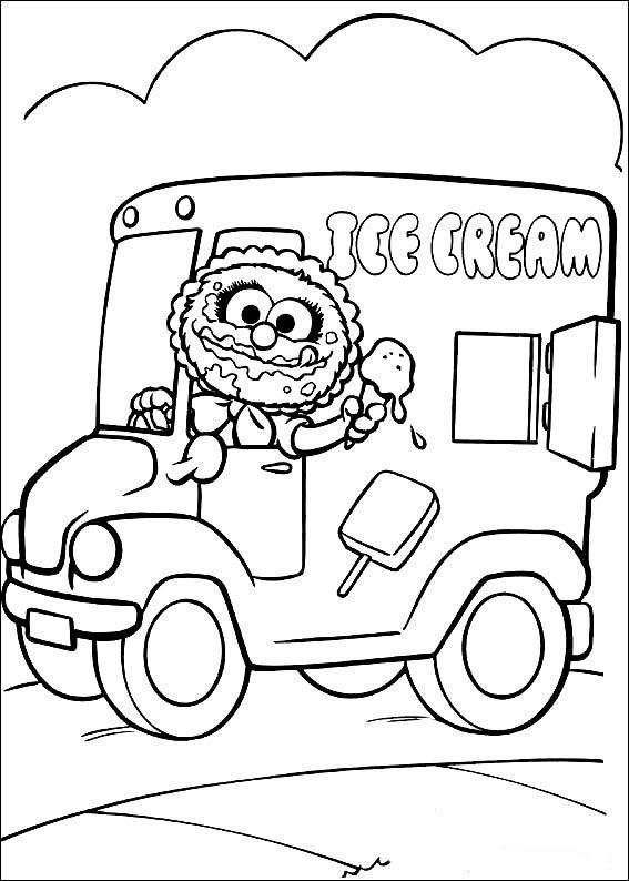 Muppets Fargelegging. Tegninger 9 | Fargelegging | Pinterest