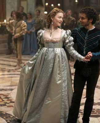 """Paintings from the 15th century inspire Academy Award-winning costume designer Gabriella Pescucci to design and create some of the most intricate and beautiful costumes which includes high waisted Venetian women's dresses, puffs sleeve, and ; """"The Borgias. """"lucrezia-borgia-fashion-1.jpg"""
