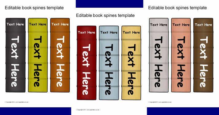 Book Spine Template   Reading ideas   Pinterest   Book ... (713 x 374 Pixel)