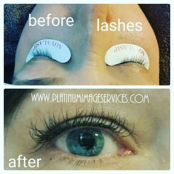 9521f06d17b Best Natural eyelash extensions, Platinum Image Services, Los Angeles,  California - Yelp