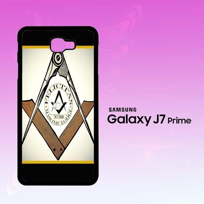 Mason Symbols Freemason A0440 Samsung Galaxy J7 Prime Case