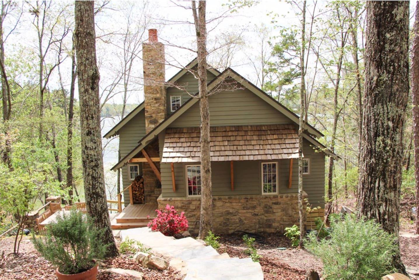 Heirloom cabin lewis smith lake alabama houses for
