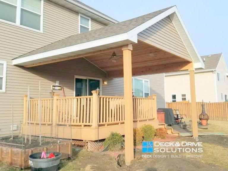Gable Porch Outdoor Decor, Porches, & Decks Pinterest