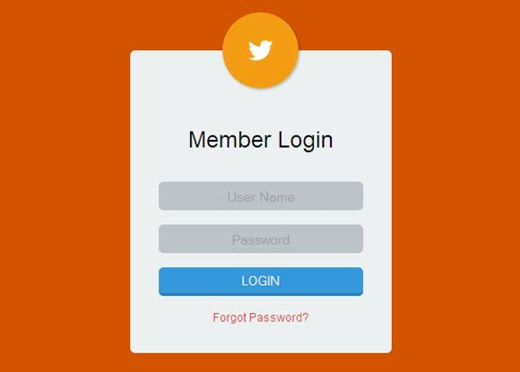 33 Best Free CSS HTML Login Form Templates - Design Sparkle