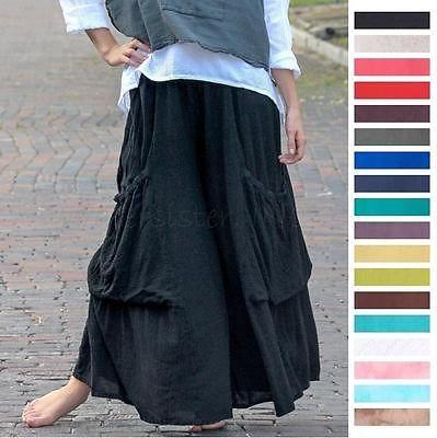 OH MY GAUZE Cotton ELLEN Palazzo Pocket Pant OSFM (M/L/XL/1X/2X) 2015 COLORS