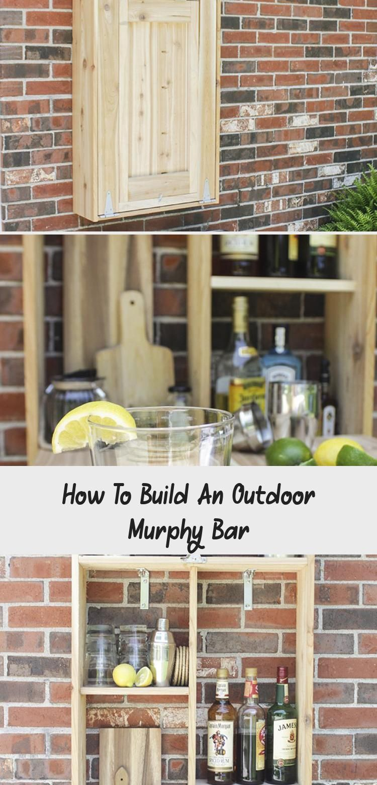 Pictures Of Completed Outdoor Murphy Bar Made From Cedar And Link