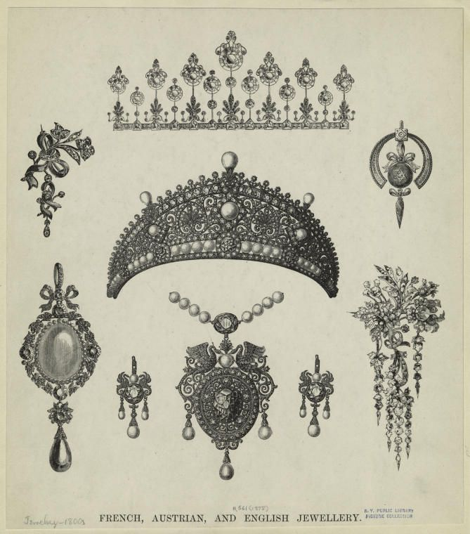 Jewelry -- 1800s