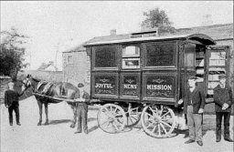 The Joyful News Van, early 1900s