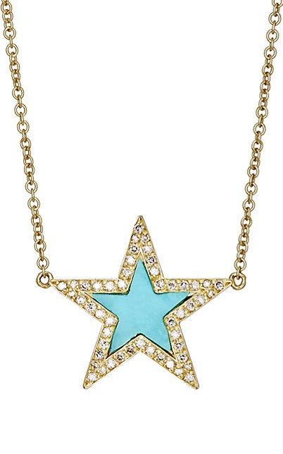 We Adore: The Star Charm Necklace from Jennifer Meyer at Barneys New York