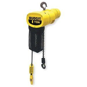 Elec Chain Hoist 1 2t 10ft Lift 115 230v By Budgit 2307 92 Electric Chain Hoist Single Speed Capacity 1 2 Thermal Protectant House Materials Bath Oils
