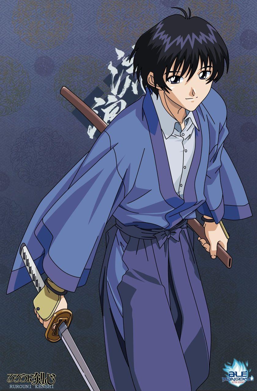 Seta Sojiro (Ruronin Kenshin) Rurouni kenshin, Anime