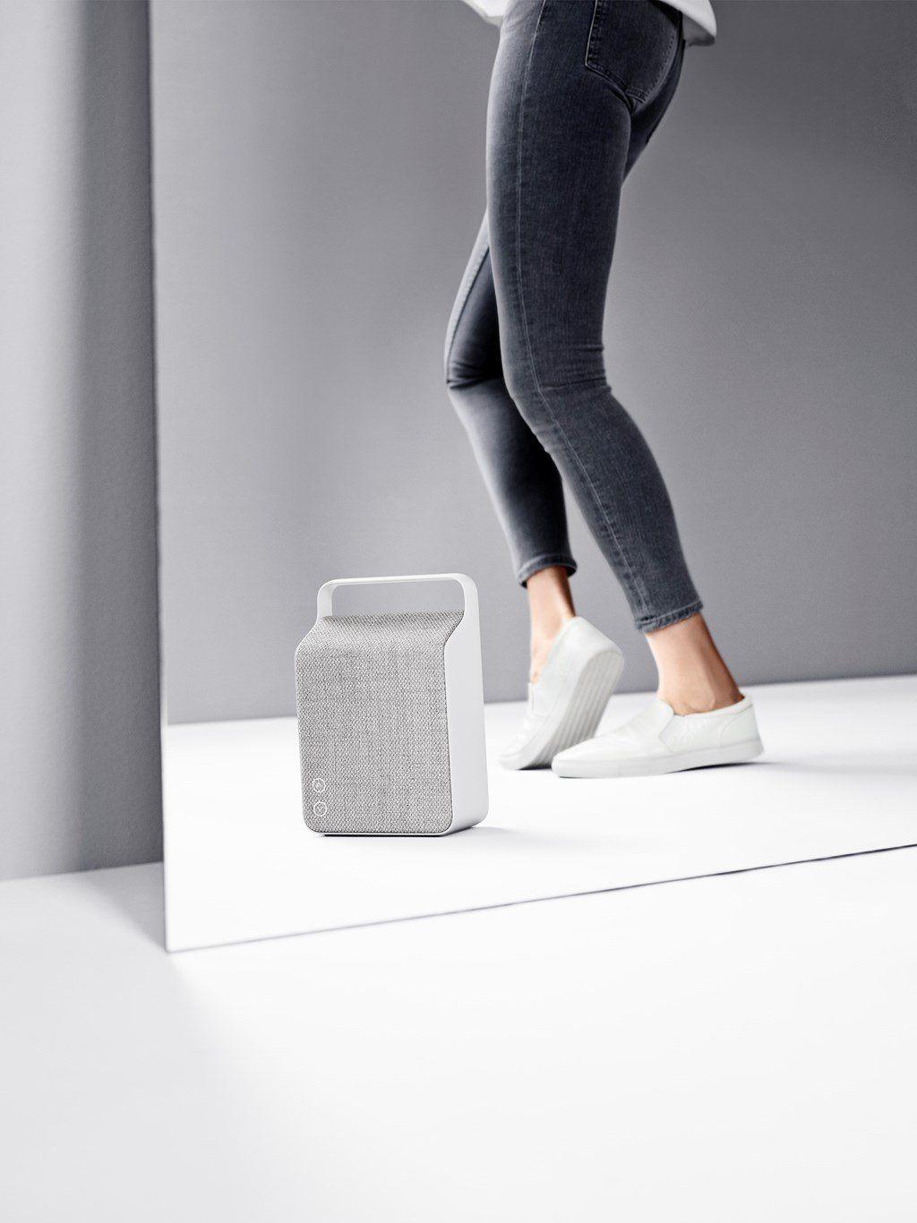 Amazon.com: Vifa Oslo Compact Rechargeable Hi-Resolution Bluetooth Portable Speaker- Pebble Grey: Quantum Networks