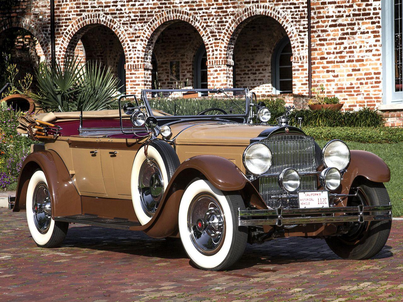 1929 Packard Custom Eight Sport Phaeton - (Packard Motor Car Company ...