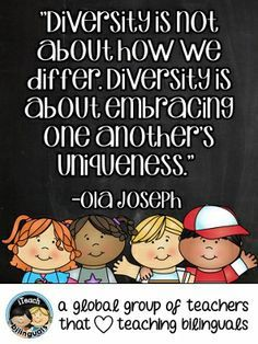 Quotes About Diversity And Culture. QuotesGram | Diversity in ...