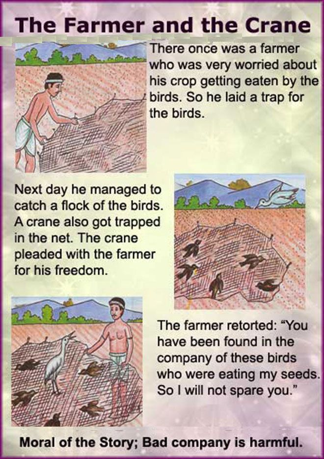 The Farmer and The Crane | STUDY ENGLISH | Pinterest | Farmers and ...