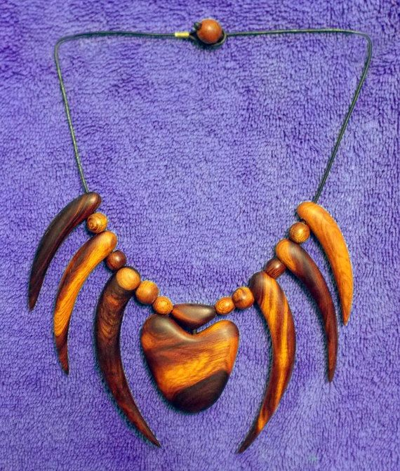 Original Ironwood Tribal Claw and Pendant by DonBurdaDesign, $200.00  https://www.etsy.com/listing/176644039/original-ironwood-tribal-claw-and