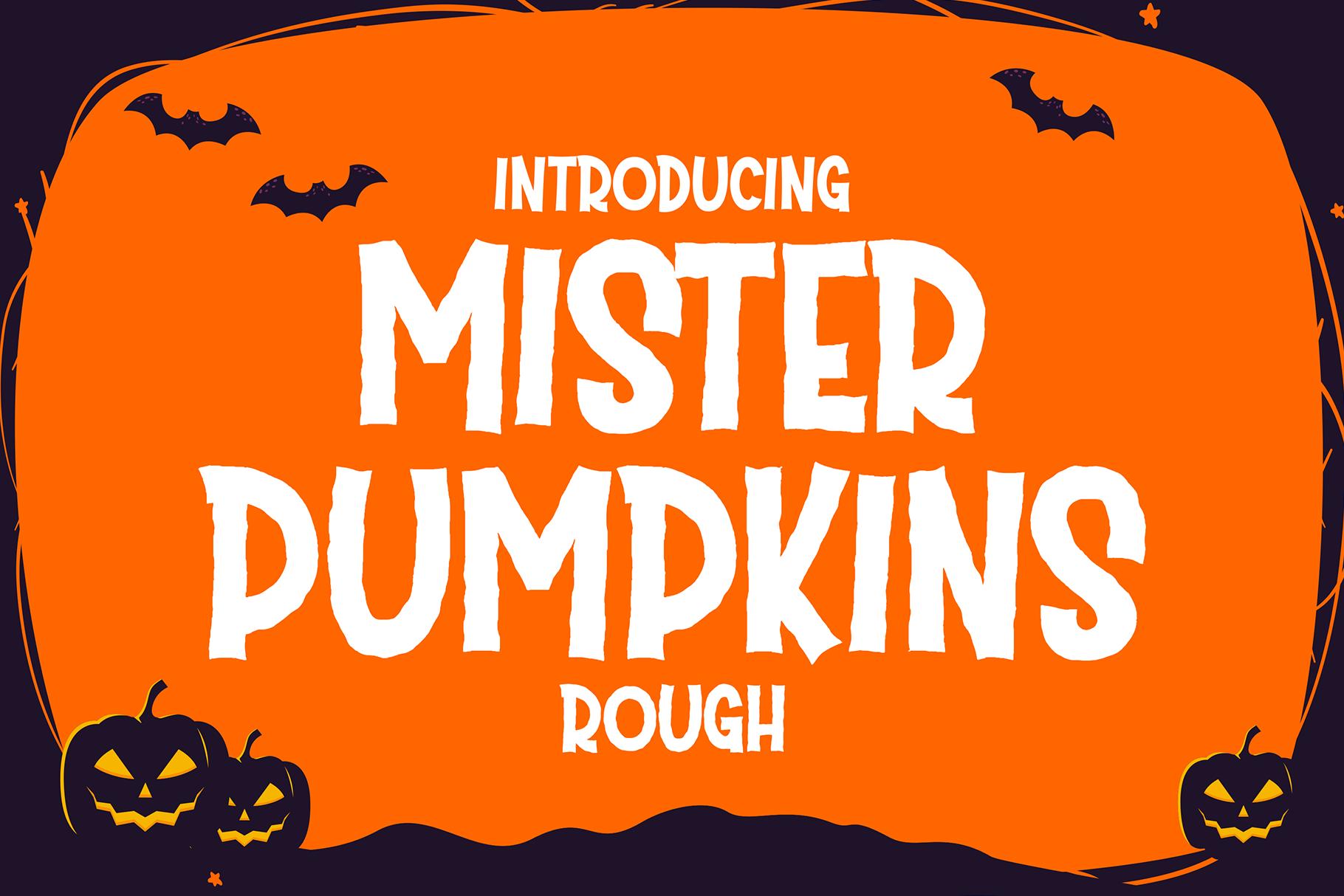 Mister Pumpkins Rough (Font) by fadhil figuree · Creative