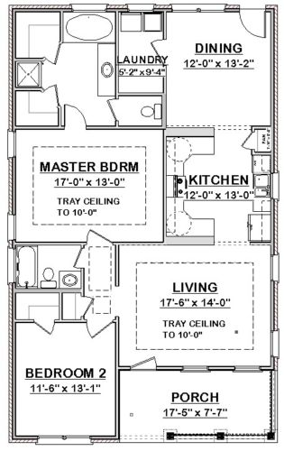 Details About Custom Small House Home Build Plans 2 Bed Cottage