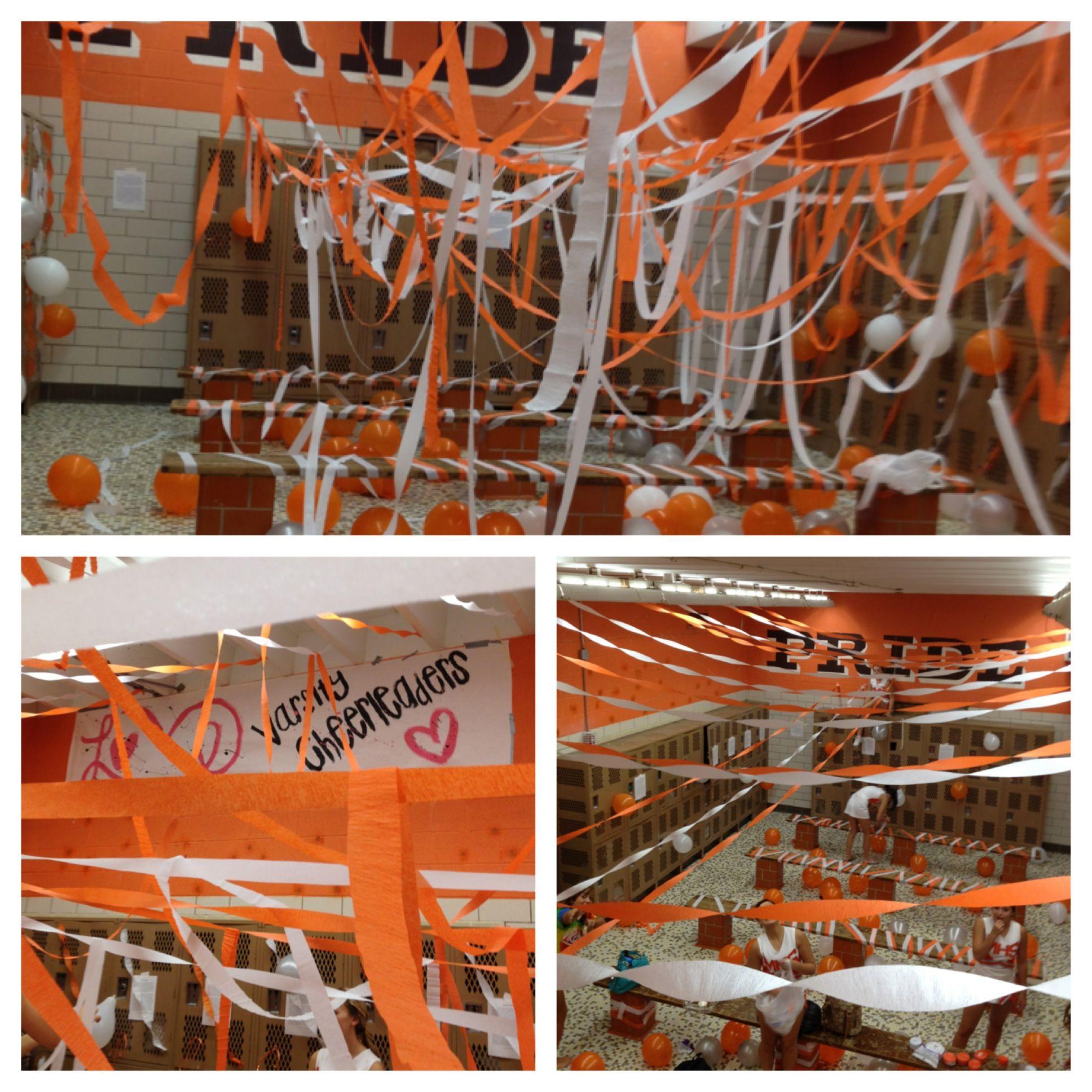 Locker Room Takeover Midpark Locker Room Decorations Basketball Locker Decorations Football Locker Decorations