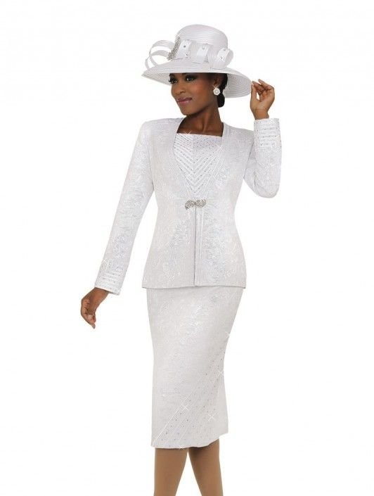 fdd33be71a3 Ben Marc Fifth Sunday 52775 Womens Brocade Church Suit in 2019 ...