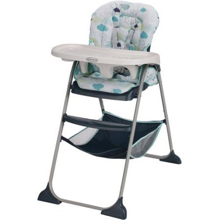 Graco Slim Snacker Highchair Walmart Com High Chair Baby High Chair Folding High Chair
