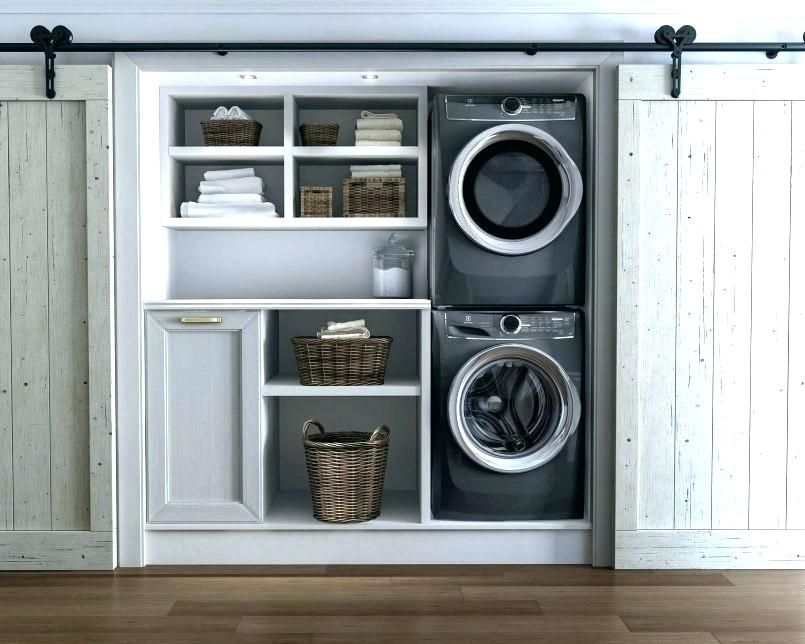 Height Of Stackable Washer And Dryer Washer Dryer Closet Size Washer Dryer Dimensions Inf Laundry Room Storage Laundry Room Storage Shelves Laundry Room Design
