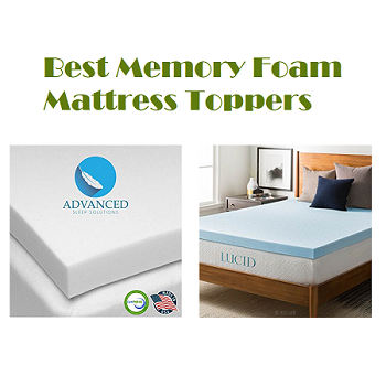 Top 15 Best Memory Foam Mattress Toppers In 2020 Complete Guide Memory Foam Mattress Topper Foam Mattress Topper Mattress