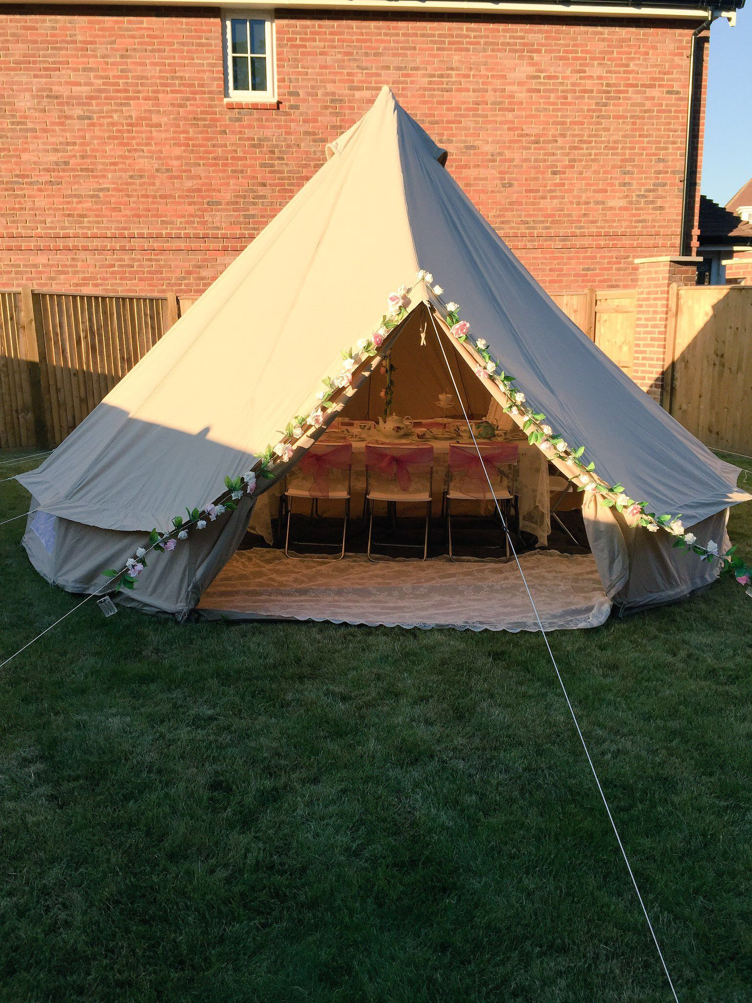Our Beautiful Bell Tent Styled for a Vintage Tea Party & Our Beautiful Bell Tent Styled for a Vintage Tea Party | Bell Tent ...