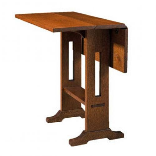 Drop Leaf Console Table Stickley Mission Drop Leaf Table drop