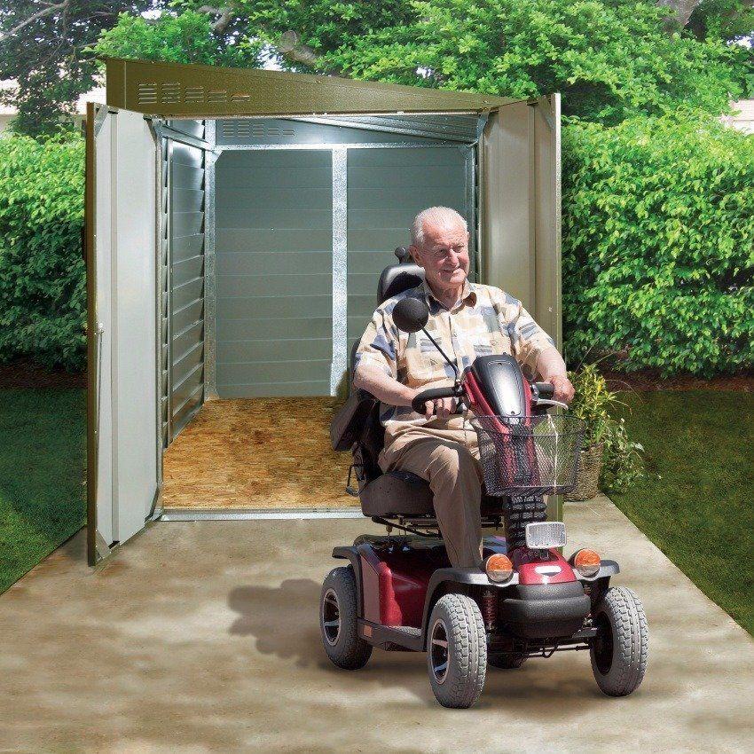 Trimetals Mobility Scooter Garage Range