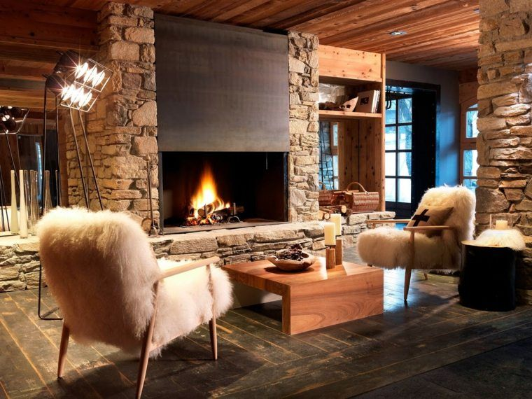 d coration int rieur chalet montagne 50 id es inspirantes deco chalet montagne chalet. Black Bedroom Furniture Sets. Home Design Ideas