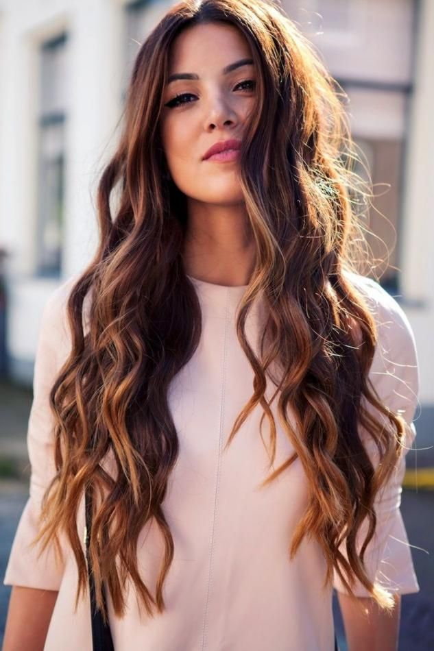 nice Wavy long hair: how to keep them always in place // #Always #Hair #keep #Long #place #them ...