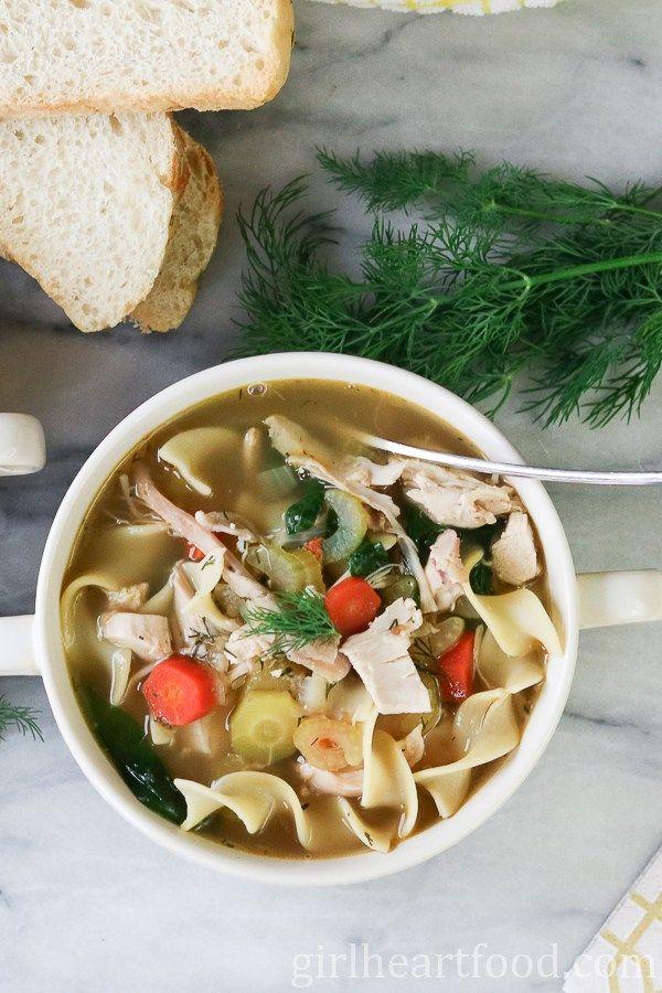 best homemade chicken noodle soup  recipe  chicken