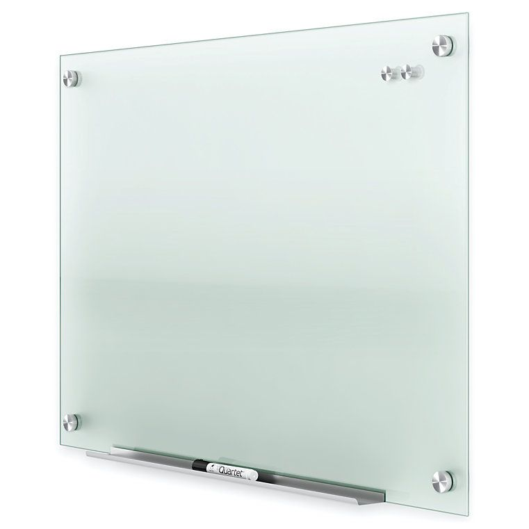 Quartet Infinity Frosted Glass Marker Board 96 X 48 By Office Depot Officemax Glass Marker Marker Board Glass Dry Erase Board