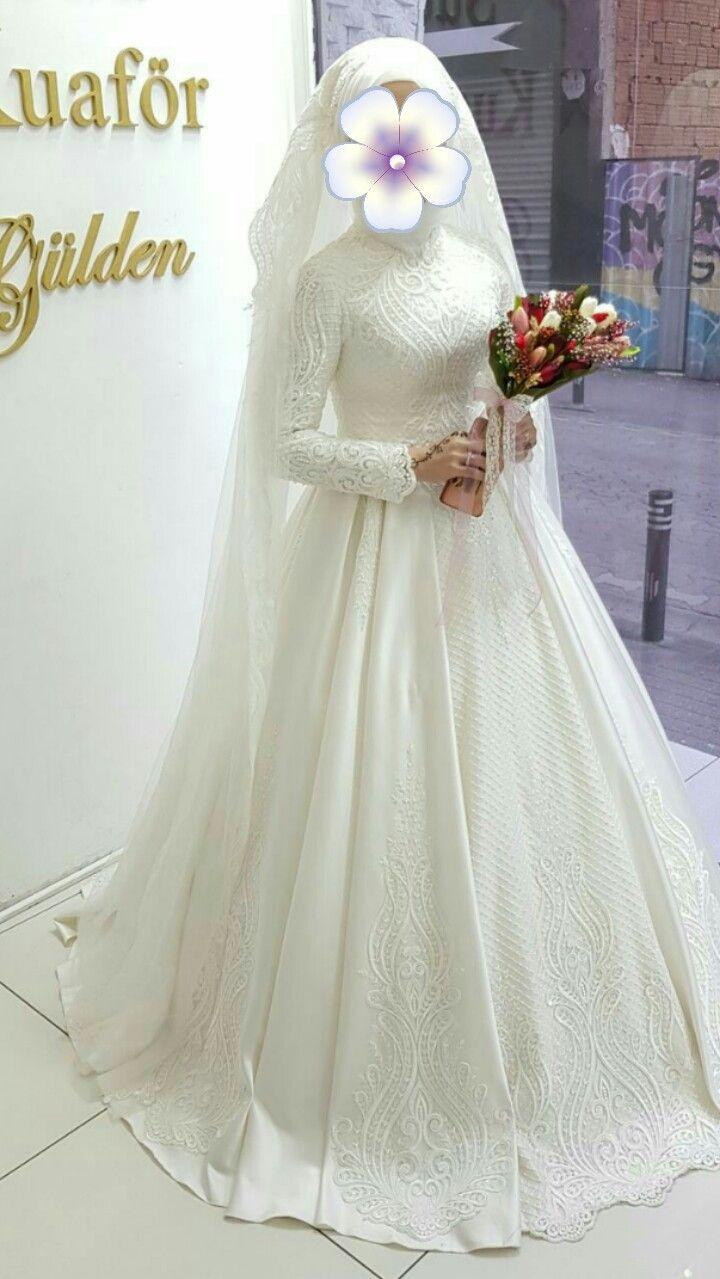 Pin by gene mei on hijab wedding dresses in pinterest