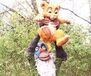 Rafiki and Simba