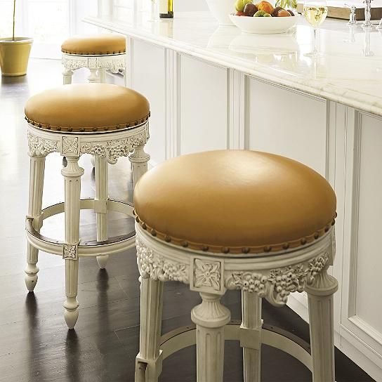 Phenomenal Provencal Grapes Swivel Bar Height Backless Bar Stool 30H Pdpeps Interior Chair Design Pdpepsorg