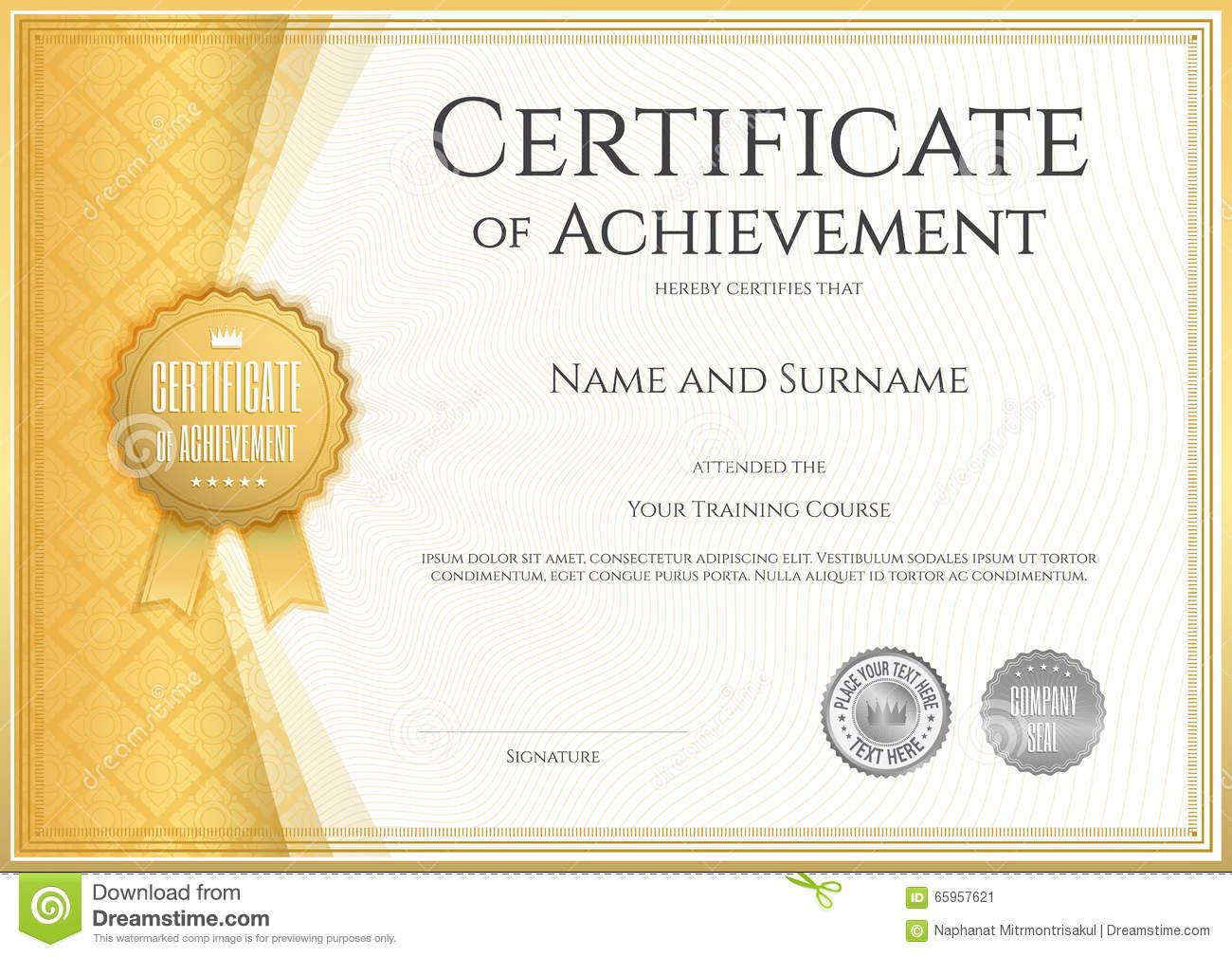 Certificate Of Achievement Army Template 006 Template Ideas